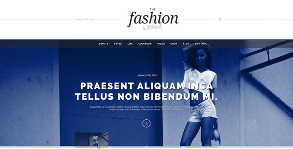 TFW :: Fashion Related PSD Template