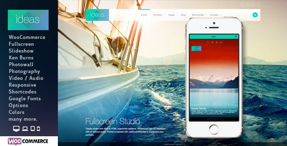 Ideas | Photography Theme for WordPress - Photography Creative