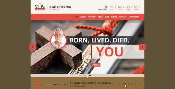 OMG - Religion Style HTML Single Page