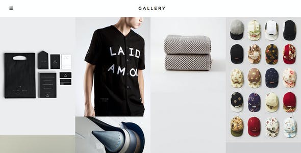Gallery - Responsive Fullscreen Grid Theme