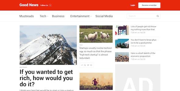 Good News — News&Magazine Template