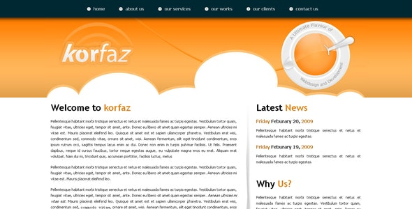 Korfaz  - Creative Site Templates