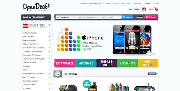 Responsive Magento Theme - Gala OpenDeal