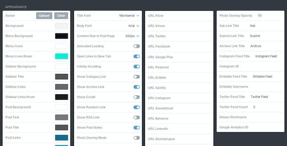 Dashboard - Responsive Fullscreen Theme