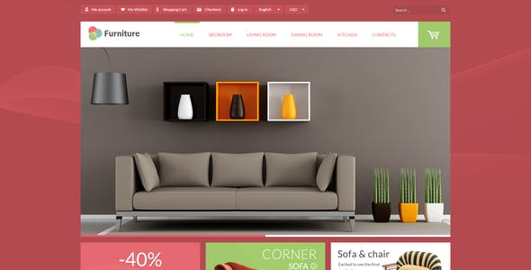 Leo Furniture - Minimal  Decoration Prestashop Theme for Home Garden | Furniture