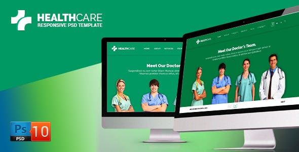 Health Care PSD Template
