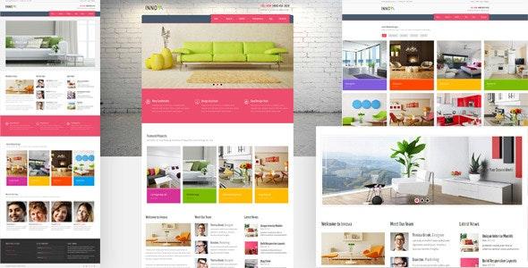 Innova - Furniture WordPress CMS Theme - Corporate WordPress
