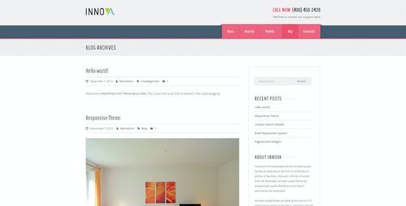 Innova - Furniture WordPress CMS Theme