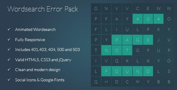 403 Error Templates from ThemeForest