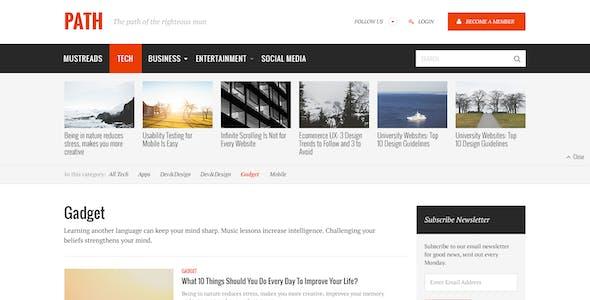 Path — News&Magazine Template