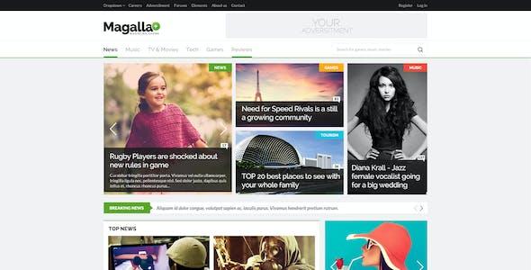 Magalla Magazine, News PSD