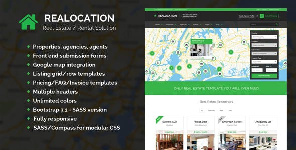 Realocation - Modern Real Estate Template