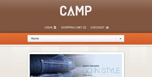 Camp - Responsive eCommerce Theme