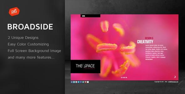 Broadside - Premium Site Template