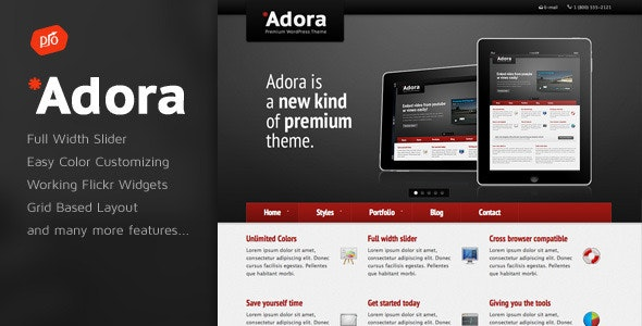 Adora - Premium Business & Portfolio Template - Business Corporate