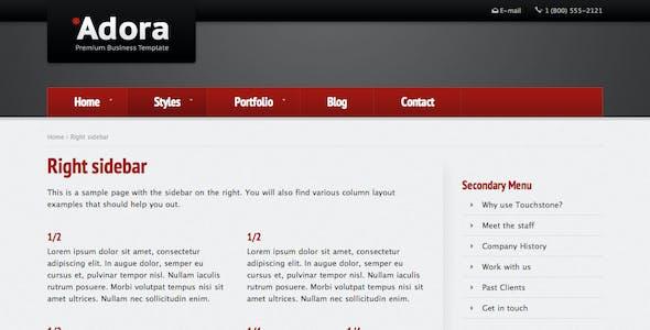 Adora - Premium Business & Portfolio Template