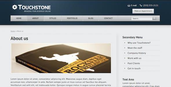 Touchstone - Corporate & Portfolio Template