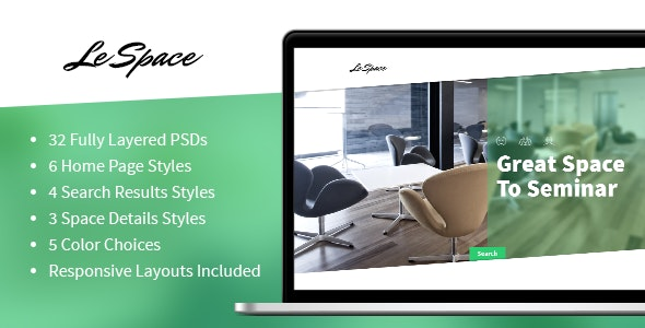 Le Space - PSD - Business Corporate