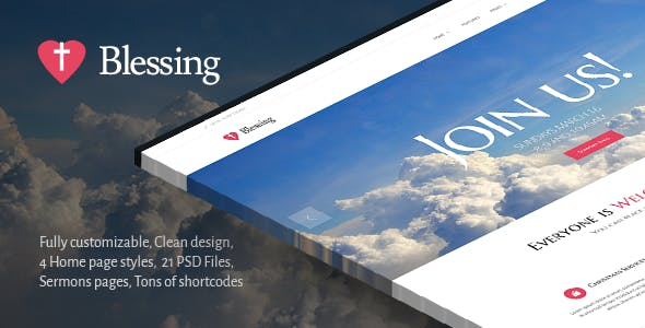 Blessing | Clean Responsive Religion Theme
