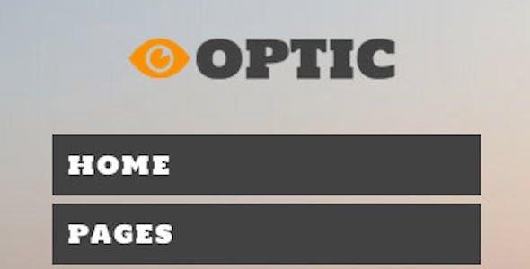 Optic - A Responsive Masonry Tumblr Theme