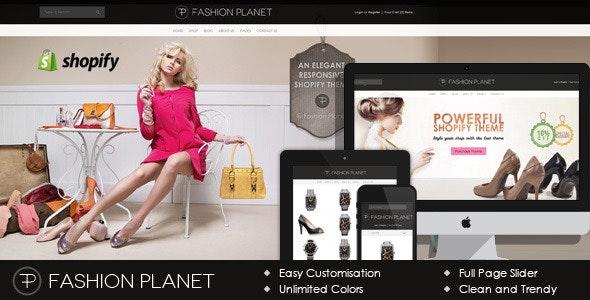 Parallax Shopify Theme - Fashion Planet - Fashion Shopify