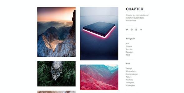 Chapter - Minimal Sidebar Theme