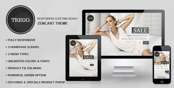 Trego - Premium Responsive Zencart Theme - Shopping Zen Cart