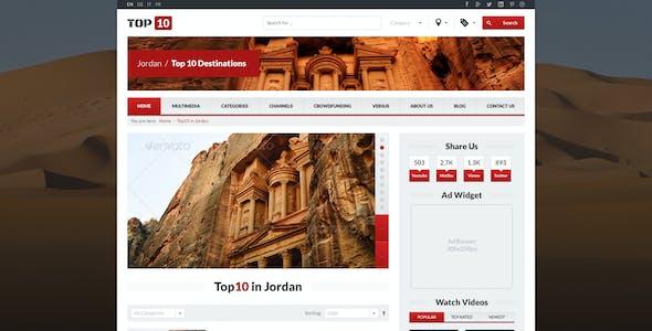 TOP 10 - Multimedia Tube (PSD)