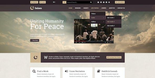 Salam - Religion Portal & Mosque Finder