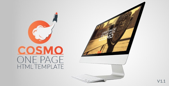 Cosmo - HTML5 One Page Template - Creative Site Templates