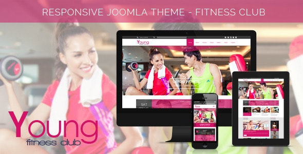 Young Age - Spa & Fitness Joomla Template - Health & Beauty Retail