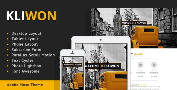 Kliwon - Agency / Corporate Theme