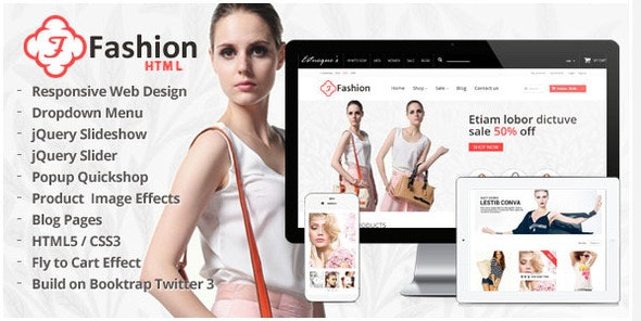 Responsive HTML Template - Fashion - Fashion Retail