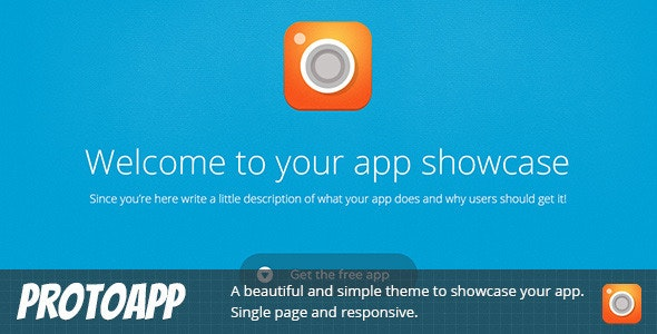 ProtoApp - Responsive Single Page App Showcase - Technology Landing Pages