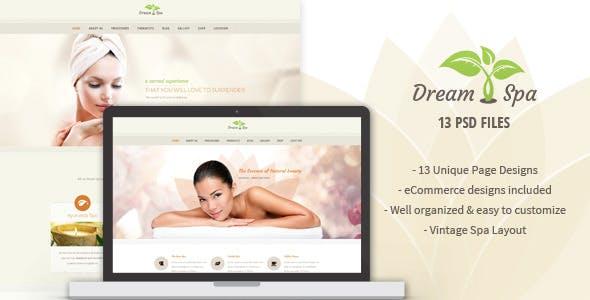 Dream Spa - Salon PSD