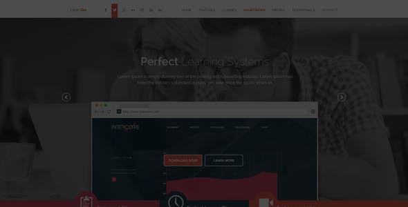 LearnGo - Education Learning Landing Page