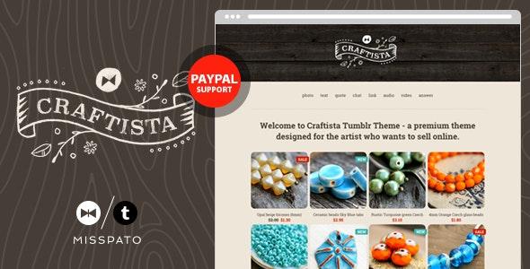 Craftista - eCommerce Tumblr Theme - Business Tumblr