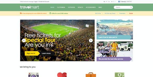 WordPress WooCommerce Responsive Theme - Computer
