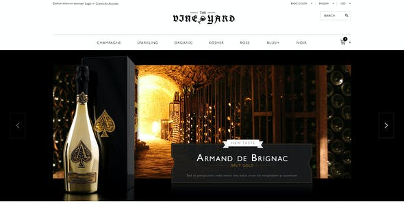 Responsive WooCommerce Theme - WineStore