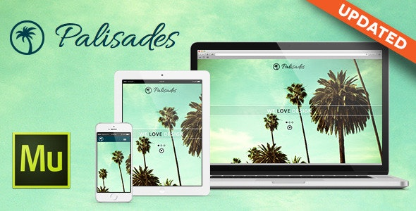 Palisades Muse Template - Personal Muse Templates