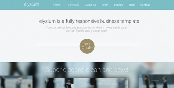 Elysium Multipurpose WordPress Theme