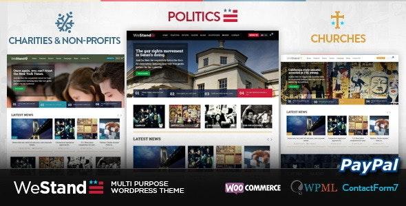 Westand - Multi Purpose WordPress Theme - Political Nonprofit