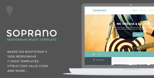 Soprano - Music Template