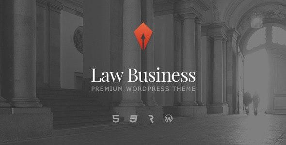 LawBusiness - Attorney & Lawyer WordPress Theme - Business Corporate