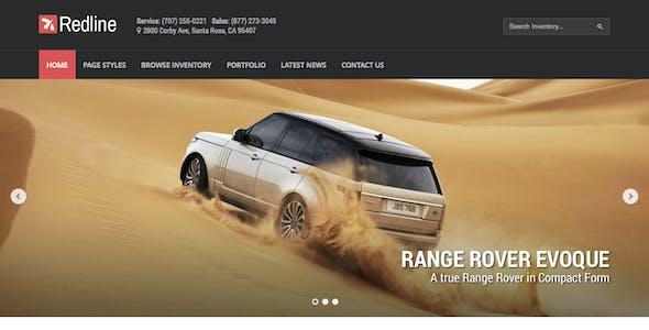 Redline - Car Dealership Wordpress Theme