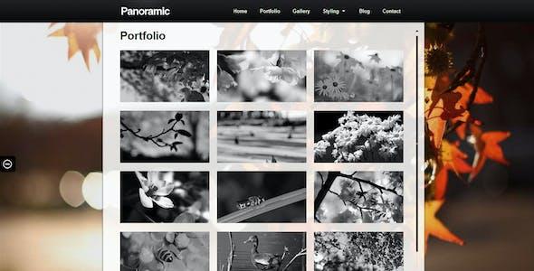 Panoramic - Fullscreen Scrolling Layout