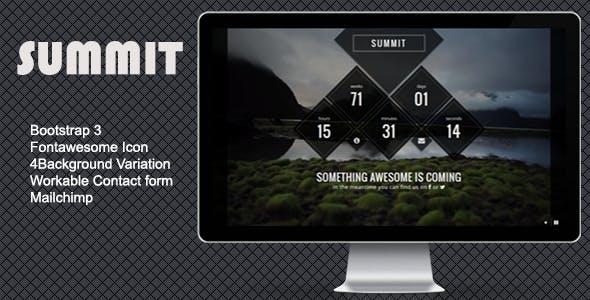 Summit - Creative Comingsoon Template
