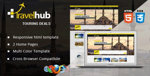 Travel Hub - Touring Packages - HTML Template - Travel Retail