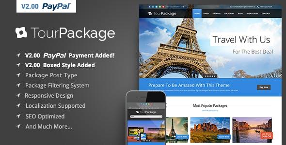 Wordpress Travel Themes From Themeforest