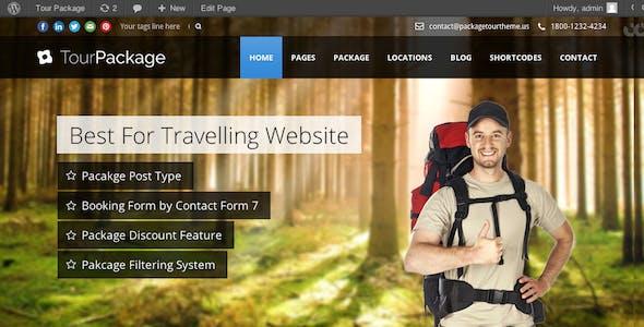 Tour Package - Wordpress Travel/Tour Theme